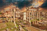 tablou forumul roman, roma (1)