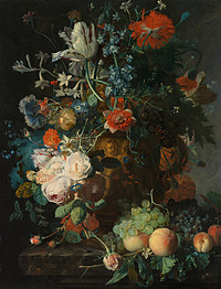 tablou flori, reproducere pictura (133), 1721