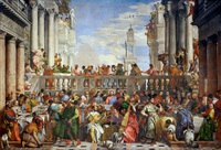 tablou paolo veronese - The Wedding at Cana, 1563
