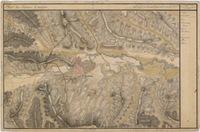 Tablou canvas cluj napoca, harta antica