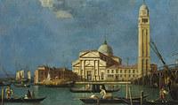 Tablou studio of canaletto - venice - s. pietro in castello
