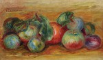 tablou renoir - still life with fruit 01