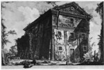 tablou piranesi - roma antica, alb negru 25
