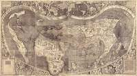 tablou world map, 1507