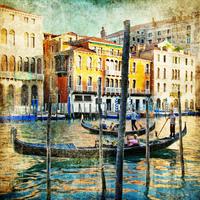 tablou venetia, vintage, italia (166)