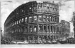 tablou piranesi - roma antica, alb negru 32