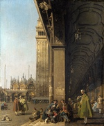 Tablou canaletto - the piazza san marco