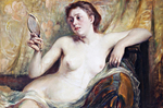 tablou hildegard - nud