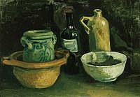 tablou van gogh - still life, 1884