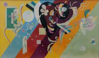 tablou wassily kandinsky - composition ix
