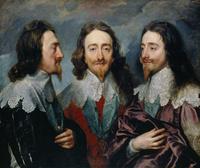 tablou sir anthony van dyck - charles I (1600)