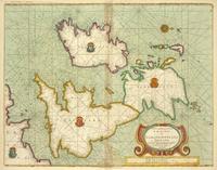 tablou england, scotland and ireland, 1702