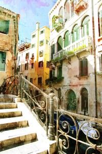 tablou venetia, vintage, italia (156)