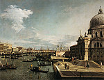 Tablou Canaletto - Entrance to the Grand Canal