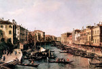 Tablou Canaletto-Grand Canal 2