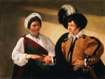 tablou Caravaggio - The fortune teller