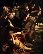 tablou Caravaggio - The Conversion of Saint Paul (1600)