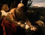 tablou Caravaggio - Sacrifice of Isaac