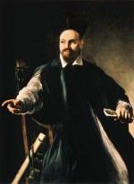 tablou Caravaggio - Portrait of Maffeo Barberini (1598)