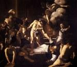 tablou Caravaggio - Martyrdom of St. Matthew