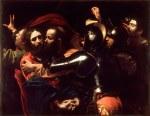 tablou Caravaggio - Taking of Christ
