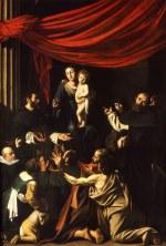 tablou Caravaggio - Madonna
