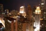 tablou Chicago night