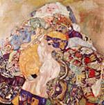 Tablou canvas Gustav Klimt - Baby
