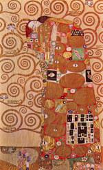 tablou Gustav Klimt - Embrace