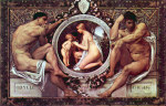 Tablou canvas Gustav Klimt - Idyll
