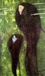 Tablou canvas Gustav Klimt - Mermaids