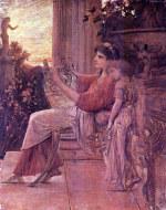 tablou Gustav Klimt - Sapho