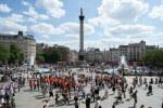 tablou trafalgar square (1). Londra