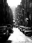 tablou Strada in Marseille