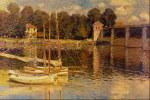 tablou Monet - Bridge at Argenteuil