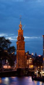 tablou Munttoren, Amsterdam