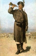 tablou Grigorescu - Gornistul