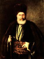 tablou Grigorescu - Portret Nasturel Herescu