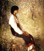 tablou Grigorescu - Rodica