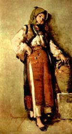 tablou Grigorescu - Tarancuta