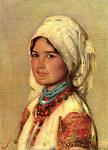 Tablou canvas Grigorescu - Taranca din Muscel