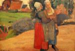 tablou Van Gogh - Bretonne gauging
