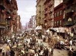 Tablou canvas New York, 1900