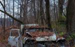 tablou Masina abandonata