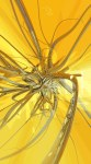 Tablou canvas Abstract yellow