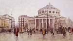 tablou Ateneul vechi, Bucuresti