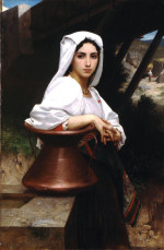 tablou Bouguereau-Italian Girl Drawing Water