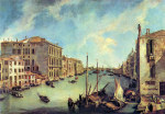 Tablou Canaletto-Grand Canal at San Vio