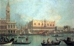 Tablou Canaletto-Palazzo Ducale