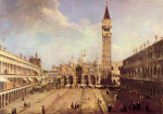 Tablou Canaletto-Piazza San Marco 1